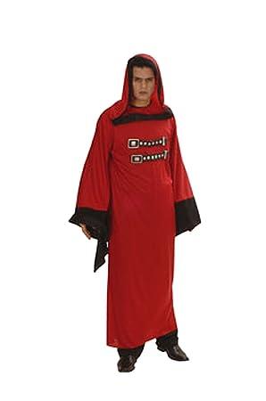 cesar disfraz de diablo monje satnico con tnica para hombre adulto