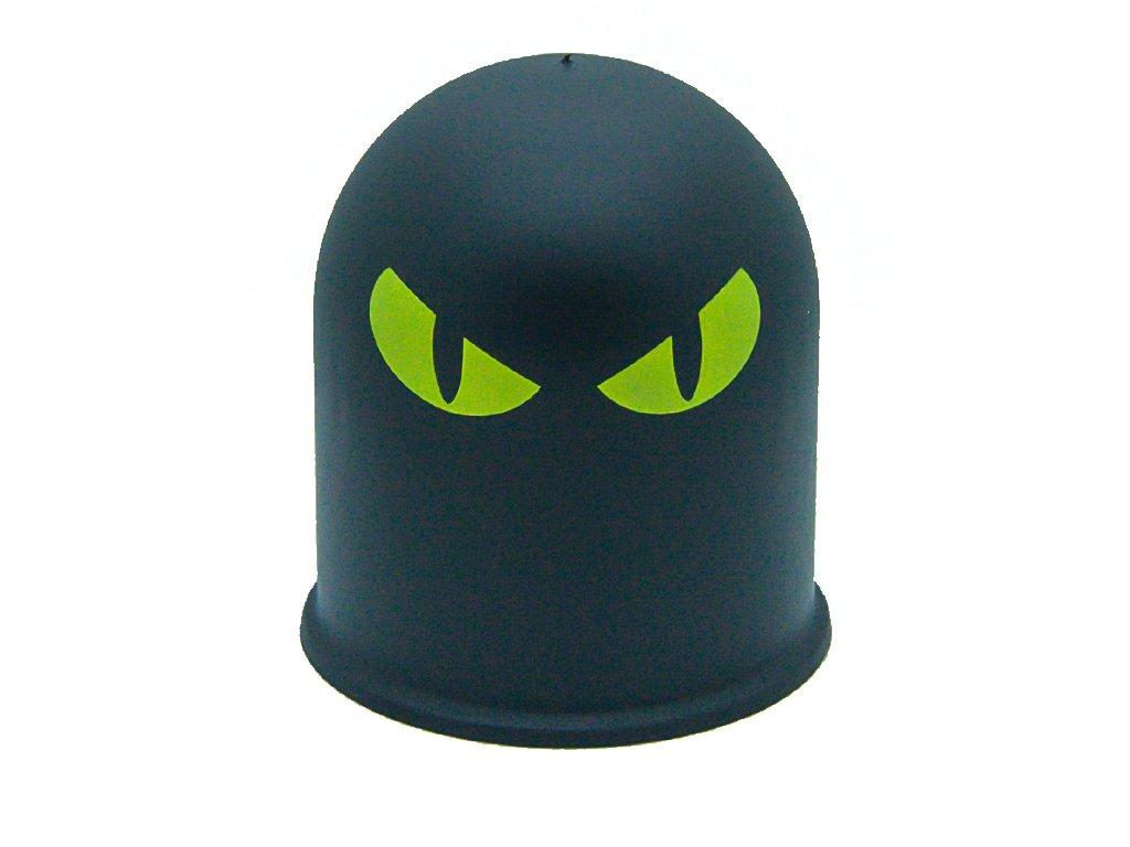 Schutzkappe Anh/ängerkupplung D/ämon Teufel Evil Eye Cap 2 B/öser Blick 2 rot