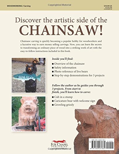 Chainsaw Carving a Bear: A Complete Step-By-Step Guide by Fox Chapel Publishing (Image #2)