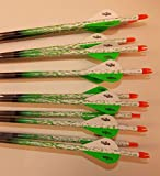 Beman ICS Percision Hunter 340 Carbon Arrows w/Blazer Vanes Bullseye Rain Wraps 1 Dz.