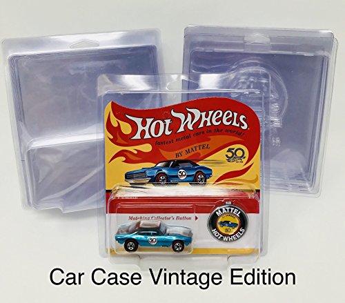 Car Case Hot Wheels Vintage Edition Protector For Redlines 10ct.