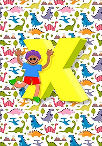 X Notebook: Back To School Notebooks, Soft Paperback, Cute