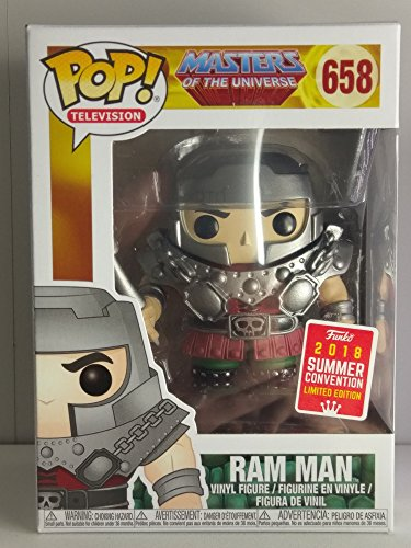 Funko Pop! Television: Masters of the Universe - Ram Man Vinyl Figure (2018 Convention Exclusive) ()