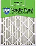 16x24x4 furnace filter - Nordic Pure 16x24x4M13-2 16x24x4 MERV 13 Pleated AC Furnace Air Filter, Box of 2, 4-Inch