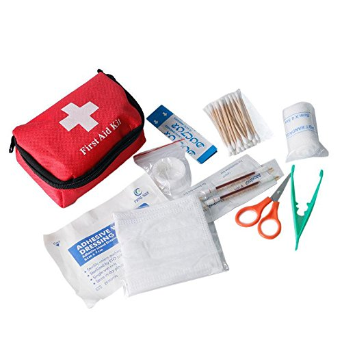 set Safe Family First Aid Kit Set Outdoor Emergency Kit Bag Case Travel Camping survival Medical by Owlnybrand