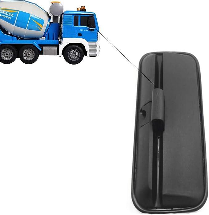 Juego de 2 espejos retrovisores 410 x 205 mm, para tractores, camiones, di/ámetro de 15-30 mm, con soporte para espejos
