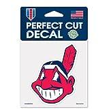 Cleveland Indians Perfect Cut 4x4 Premium Auto Decal