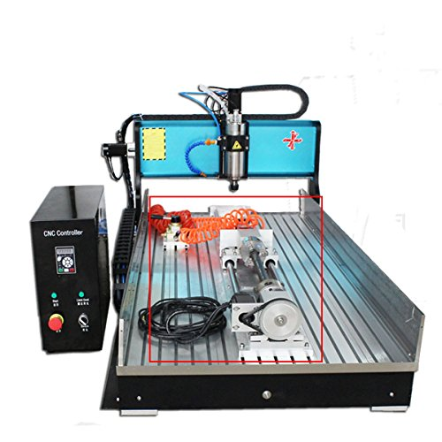 - JFT 60130 (60×130cm)2.2kw Industrial Level CNC Wood Router metal Engraving/PVC milling Machine (2.2kw+4axis)