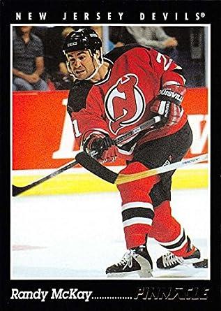 be57aded5 Amazon.com  1993-94 Pinnacle Randy McKay  322 NJ Devils ...
