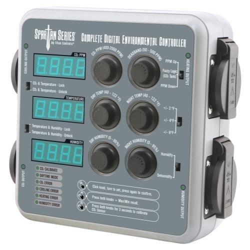 - Titan Controls Spartan Series Complete Digital Environmental Controller (Temperature, CO2 and Humidity)