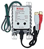 High Level to RCA Converter   BOSS Audio B65N Noise Filter for Car Audio Systems