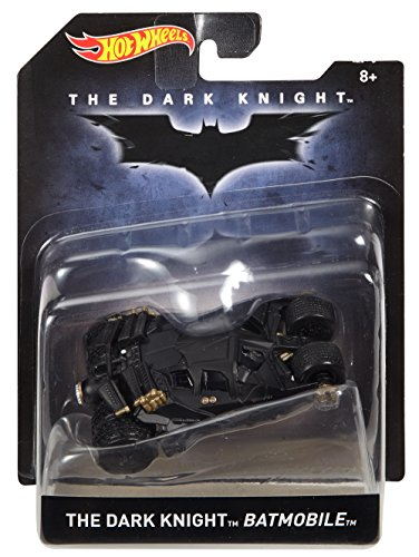 Hot Wheels The Dark Knight Batmobile Vehicle (Dark Knight Collection)