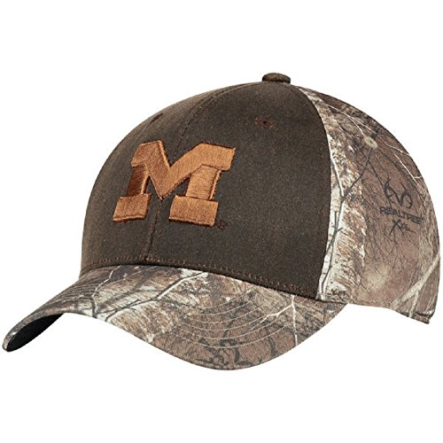 Top of the World NCAA-Habitat-Camouflage One-Fit Hat Cap Size M/LG-Michigan Wolverines - Michigan Wolverines Camo