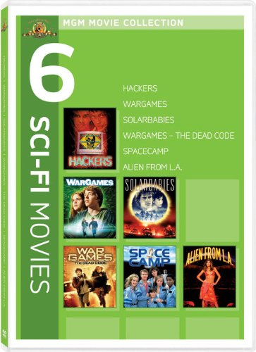 MGM Movie Collection - 6 Sci-Fi Movies (Hackers / Wargames / Solarbabies / Wargames - The Dead Code / Spacecamp / Alien from L.A.) (Mgm 6 Horror Movie Dvd)