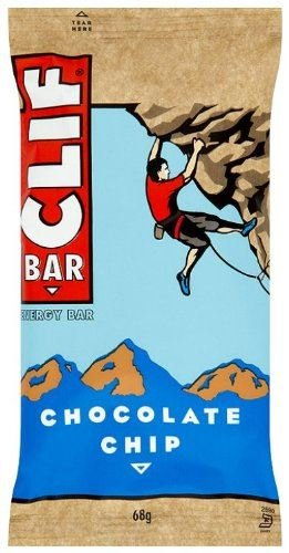 (12 PACK) - Clif Bar Chocolate Chip Flavour | 68 x 12g x | 12 PACK - SUPER SAVER - SAVE MONEY by Healthy Food Brands Clip Bar