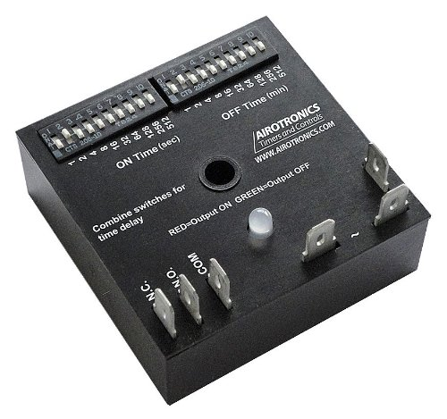 Airotronics / Pelco Component Technologies - TGKAD11023/1023EE1HS - Encapsulated Timer Relay, 1023 sec, 5 Pin
