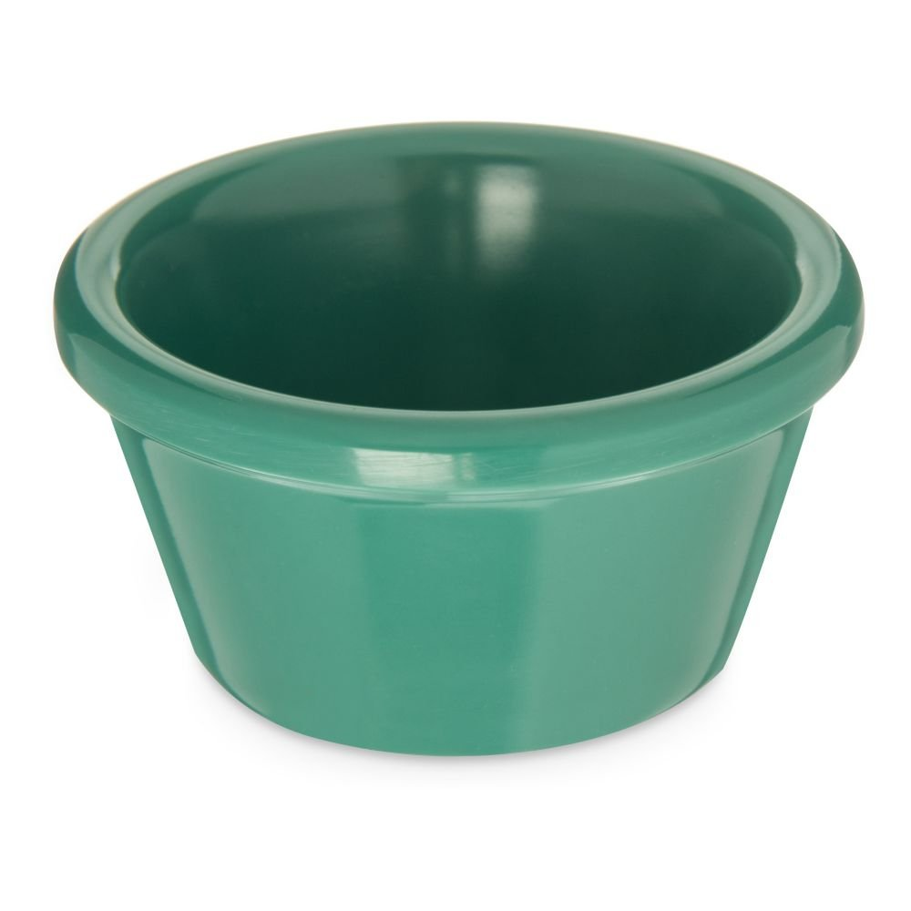Carlisle 85209 2 Oz. Meadow Green Smooth Ramekin - Dozen