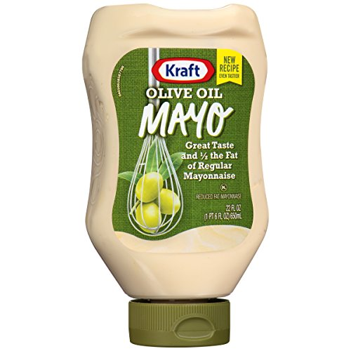 Kraft Mayo with Olive Oil (22 oz Bottles, Pack of 2)