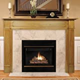 Pearl Mantels 110-56 Williamsburg Fireplace Mantel Surround, Unfinished
