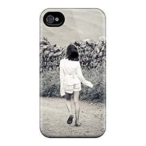Durable Protector Case Cover With People Children The Carefree Childhood Hot Design For Iphone 4/4s