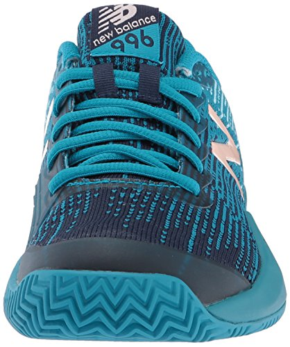 New Tennis Ozone Femmes Blue 996 Blue Tennis Clay Shoe Court Deep Ozone Balance BalanceClay Court W V3 V3 996 New Pour Femme rxYrAqFp