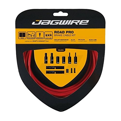 - Jagwire Road Pro Brake Cable Kit Red, Shimano/SRAM