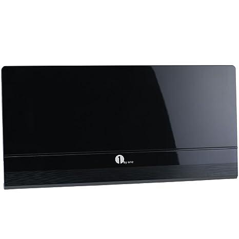 Kingbox TV Antenna Indoor Amplified HDTV Antenna 30 Mile Range with