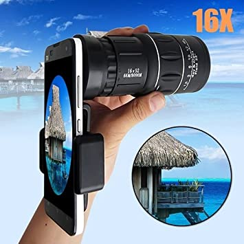 Amazon com: Quner Cell Phone Camera Lens Universal Mobile