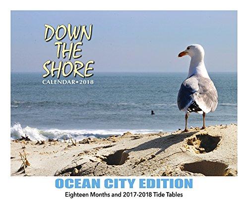 Down The Shore OCEAN CITY Calendar 2018