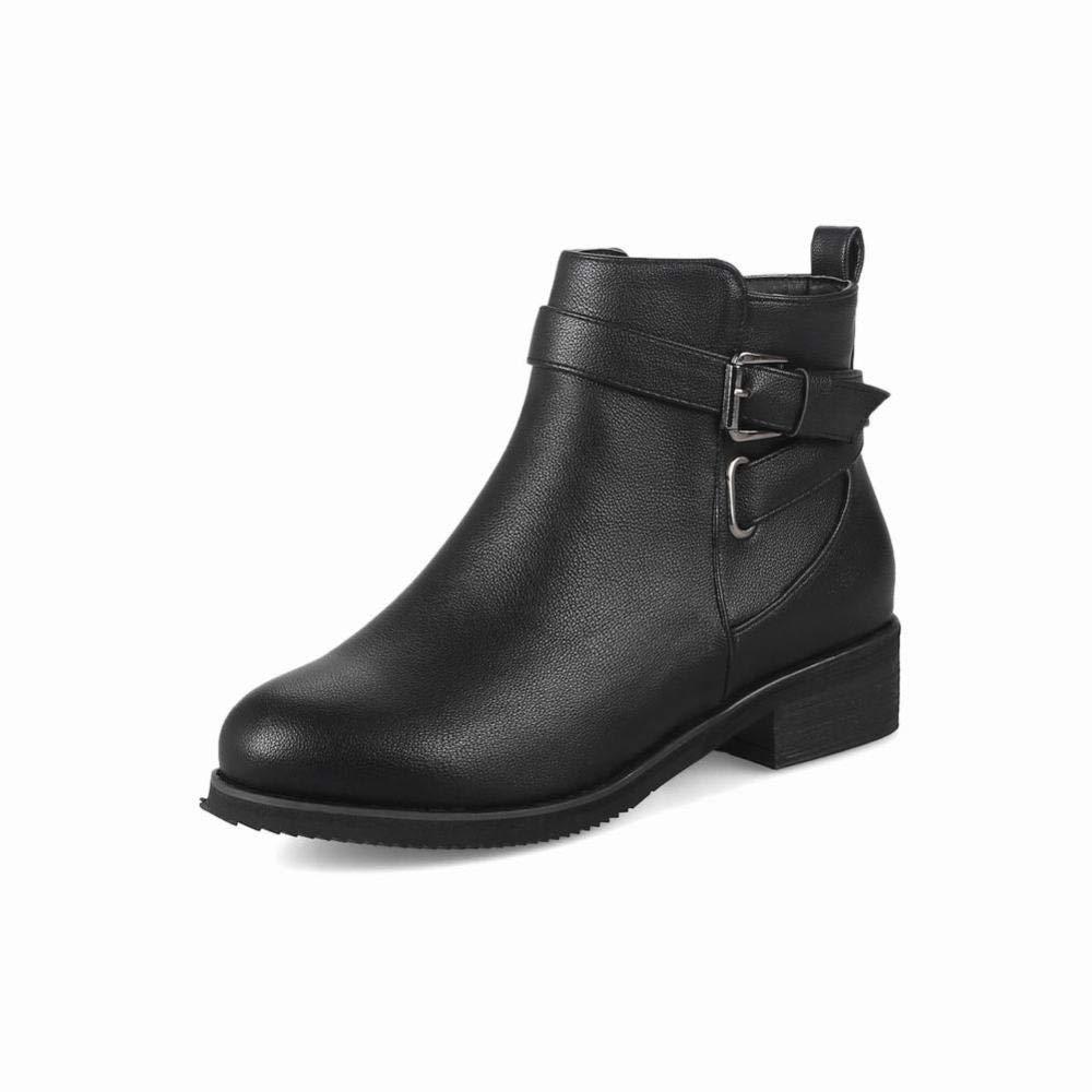 Stiefel Für Frauen, Mode Mode Mode Damen Dicke Stiefeletten Schnürsenkel Martin Stiefel, Warme Stiefeletten aa4338