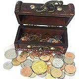 6b194574ff IMPACTO COLECCIONABLES Collezione Monete dal Mondo - 50 Monete da 50 Paesi  con Confezione Regalo