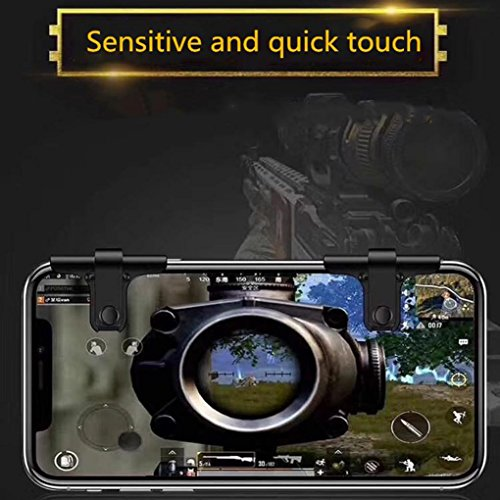 and More Cell Phone Game Controller for iPhone X 8 Samsung S8 S8 Baoblaze PUBG Mobile Game Controller Fire//Aim L1R1 Trigger Buttons for PUBG Mobile//Rules of Survival