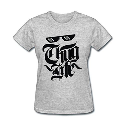 sljd-womens-thug-life-design-short-sleeve-t-shirt