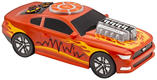 Kid Galaxy Ford Mustang Motorized iRock & iRoll Car. Toddler Light and Sound Effects