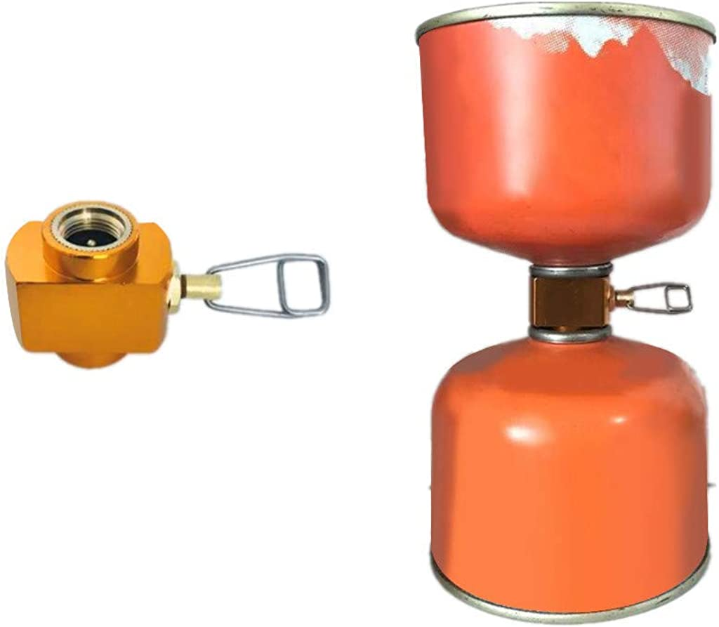 Camping Stove Accessories Gas Stove Propane Refill Adapter Gas Tank Connector