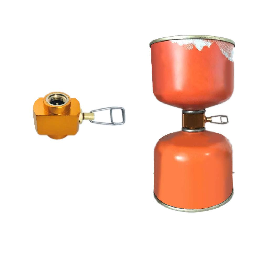 Meet/&sunshine Camping Stove Accessories Gas Stove Propane Refill Adapter Gas Tank Connector