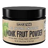 Monk Fruit Blend - Only 2 Ingredients - Gluten Free, Sugar Free, Low Glycemic, Sweeten Coffee or Tea, Use in Baking