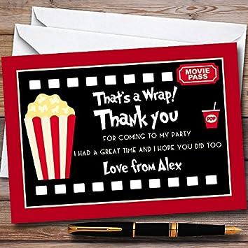Ruby Pink Etiqueta de nombre Hazlo tú mismo regalo Tarjetas de Felicitación Tarjeta Toppers Personalizar