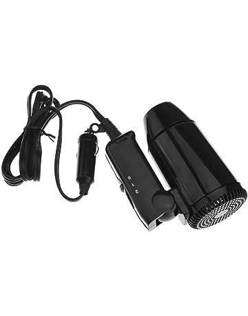 Lembeauty - Secador de Pelo para Coche, 12 V, Compacto, Plegable, portátil