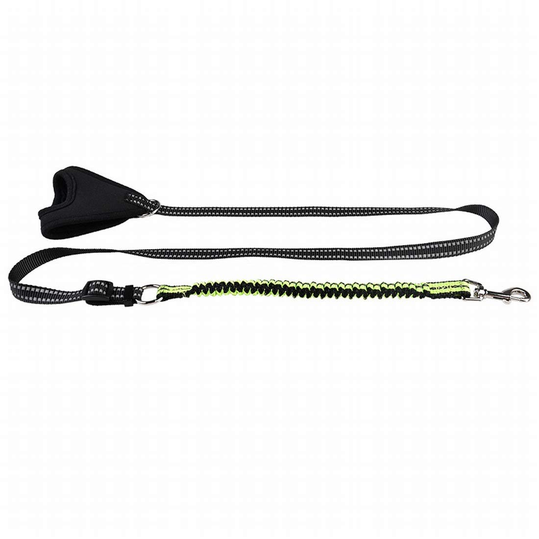 Green Large Green Large Souliyan Pet Dog Hand-held Explosion-Proof Traction Rope, Reflective Anti-Collision Traction Rope (color   Green, Size   L)