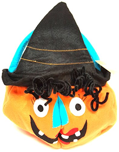 (ELLEN KRANS JACK O LANTERN TRICK OR TREAT BAG WITCH)