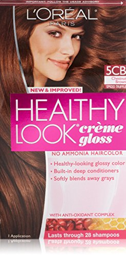 Healthy Look Creme Gloss, Chestnut Brown / Spiced Truffle #5CB ()