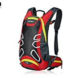 15L Water-resistant Shoulder Outdoor Cycling Bike Riding Backpack Mountain Bicycle Travel Hiking Camping Running Water Bag , iParaAiluRy
