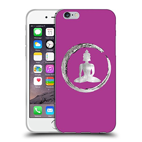 GoGoMobile Coque de Protection TPU Silicone Case pour // Q10020621 Bouddha assis 13 byzantin // Apple iPhone 6 4.7""