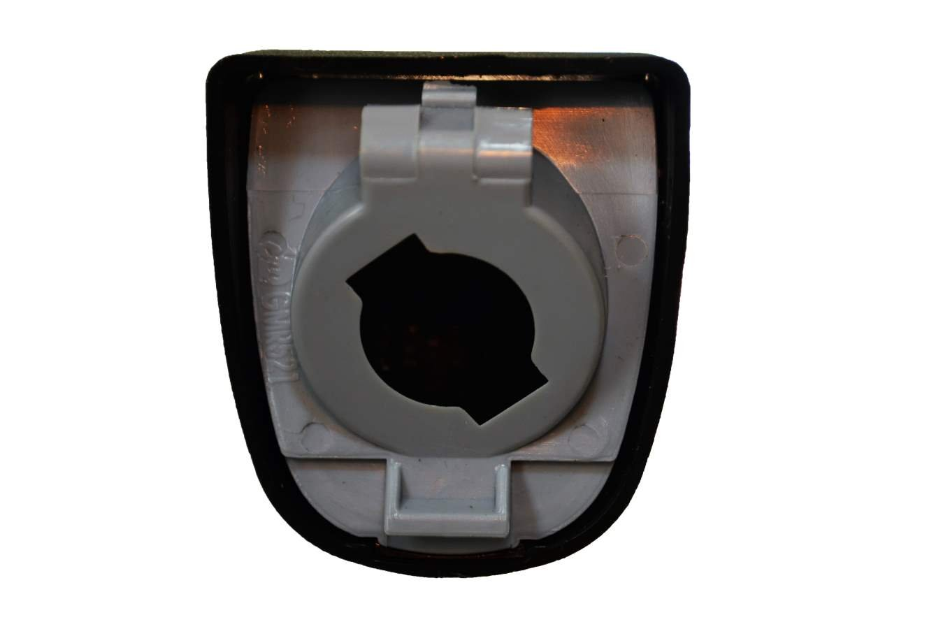 License Plate Light//Lamp Lens ONLY Textured Black 5559039009 PT Auto Warehouse GM-5522A
