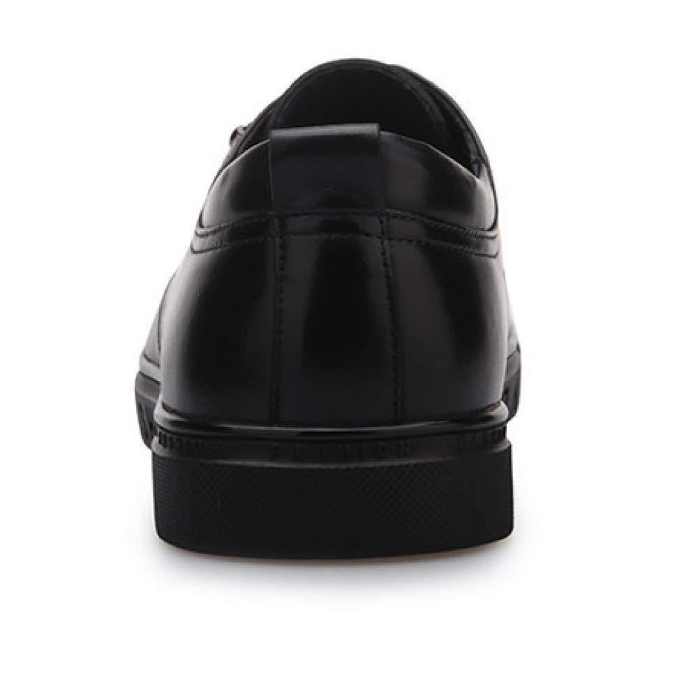 YCGCM Herrenschuhe Lace Breathable Business Casual Hochzeit Schuhe Niedrig schwarz Top Schuhe Wear resistent schwarz Niedrig 0cc722