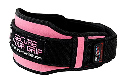 "Weightlifting PRO Belt for Women Olympic Lifting 5"" Wide Back Support for Lifting Fitness Gear & Exercise Accessories Bodybuilding Squats"