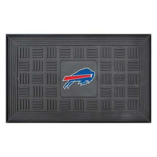 - NFL Buffalo Bills 3-D Team Medallion Vinyl Door Mat