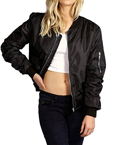Quilted Knit Bomber Jacket - 3