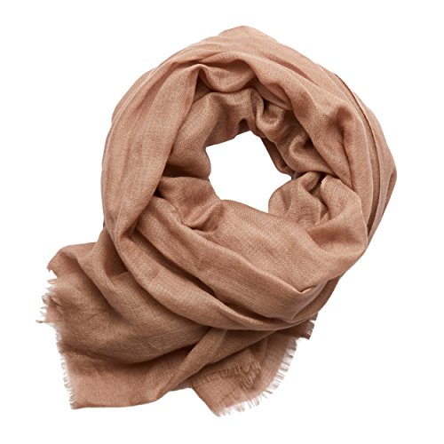 MoonCats Premium Cashmere-Silk Scarf (Taupe) by Moon Cats (Image #1)
